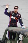 BROOKLYN, MI - JUNE 14: Denny Hamlin, driver o...