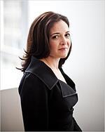 Image representing Sheryl Sandberg as depicted...