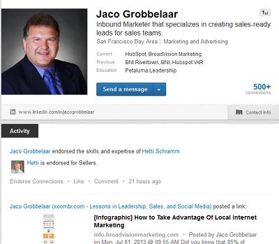 internet marketing, inbound marketing agency, 3 best LinkedIn Tips, Petaluma CA