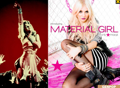 A material girl in a digital marketing objectives world